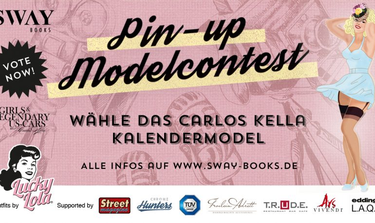 Die Chrome Hunters beim Carlos Kella Pin-up Modelcontest auf der Street Mag Show Hamburg 2019
