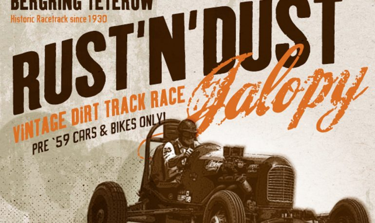 Die Chrome Hunters beim Rust'n'Dust Jalopy 2019