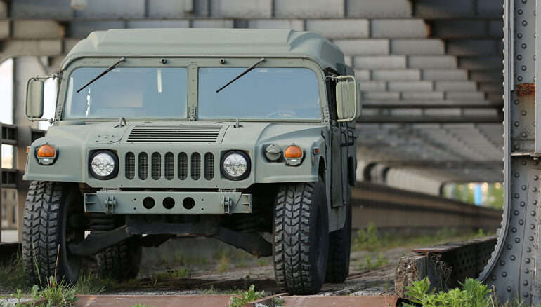 Humvees bei den Chrome Hunters